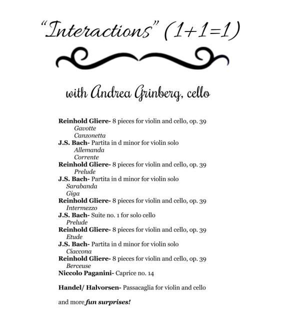 Interactions program